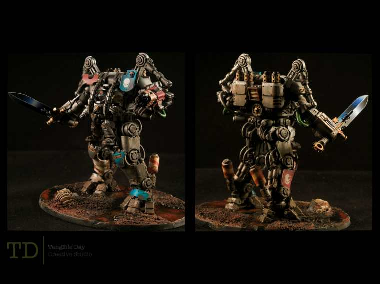 Dreadknight back and front view