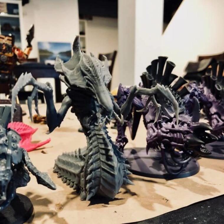 Hydralisk from Starcraft tyranid proxy