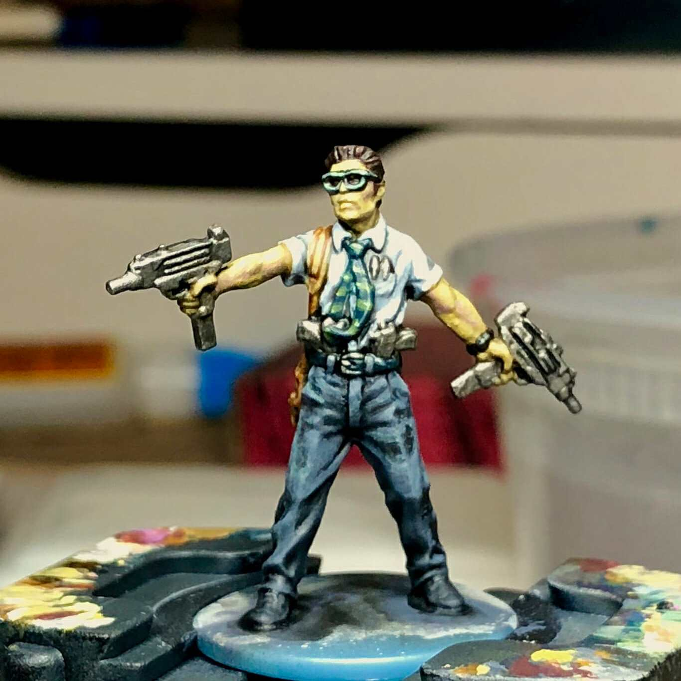 Dry Palettes for Painting Miniatures: Better than a Wet Palette?