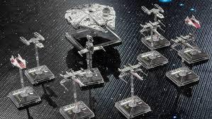 Friday off with rain (40k and X-wing minis)