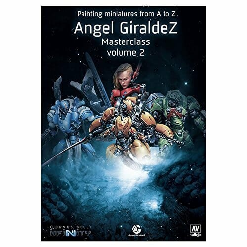 21 Great How-To Books for Painting Miniatures in 2020! (So Far) - painting miniatures from a to z - Angel Giraldez