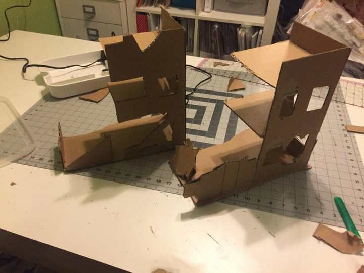 3 Awesome Ways to Make Wargaming Terrain (Cheap, Easy, and Free) - low cost cheap DIY wargaming terrain for Warhammer 40k, Age of Sigmar, and other tabletop games, DND terrain making, dungeon and dragon terrain for RPG - urban cardstock buildings