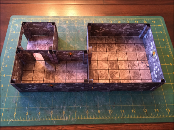 Great Papercraft Terrain for Tabletop Gaming! Easy Mode! - Tangible Day