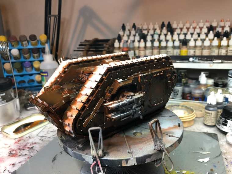 3D Print and Paint a Forgeworld Warhammer 40k Tank (13 Easy Steps!)