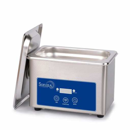 7 Great Ultrasonic Cleaners for Airbrushes and Miniatures - Best ultrasonic cleaner for airbrushes and miniatures - ultrasonic cleaners for cleaning miniatures and models - Sonix 4 Ultrasonics