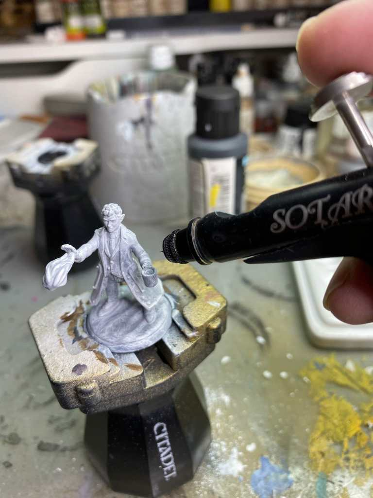 Tutorial - how to paint 3d printed minis and models - heroforge miniature painting