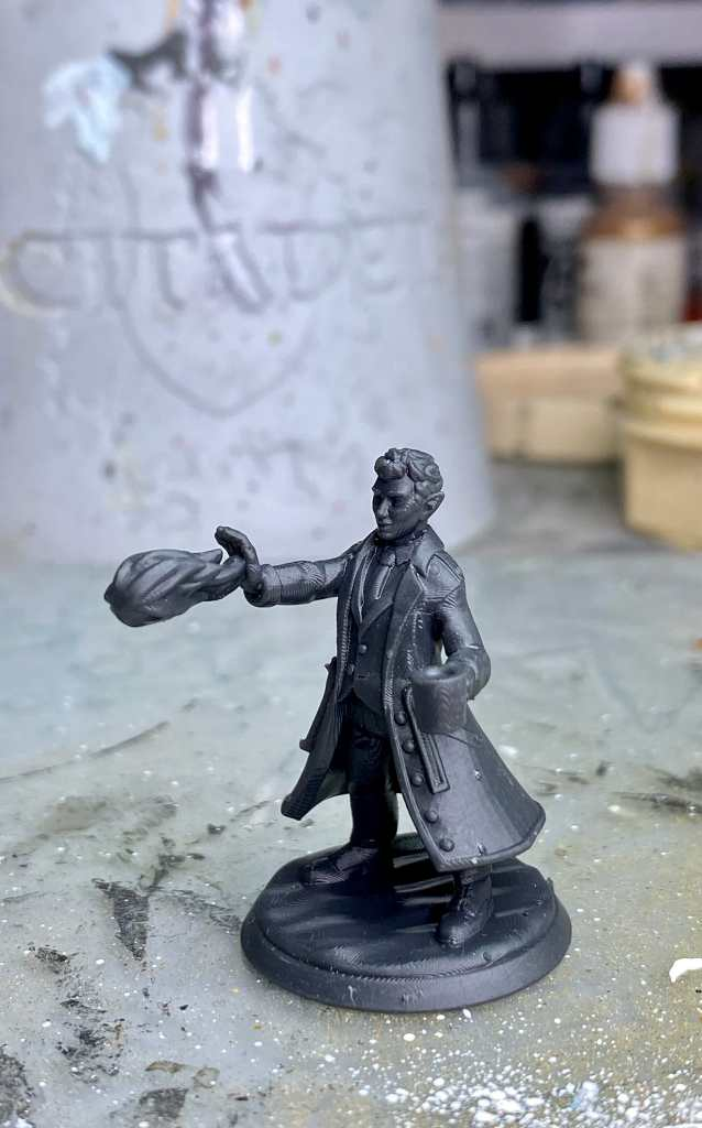 How-To Paint a 3D Printed Miniature with OSL - washing the miniature - How do you clean a miniature before applying primer and paint?