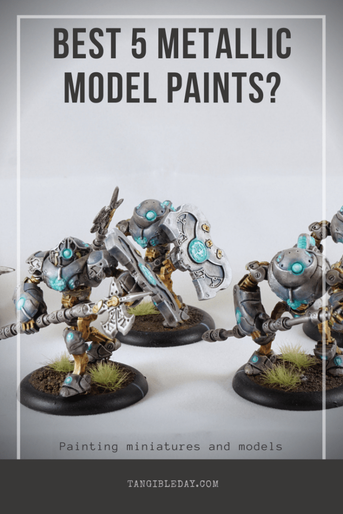 Best metallic paints for models - top 5 metallic favorites for miniatures