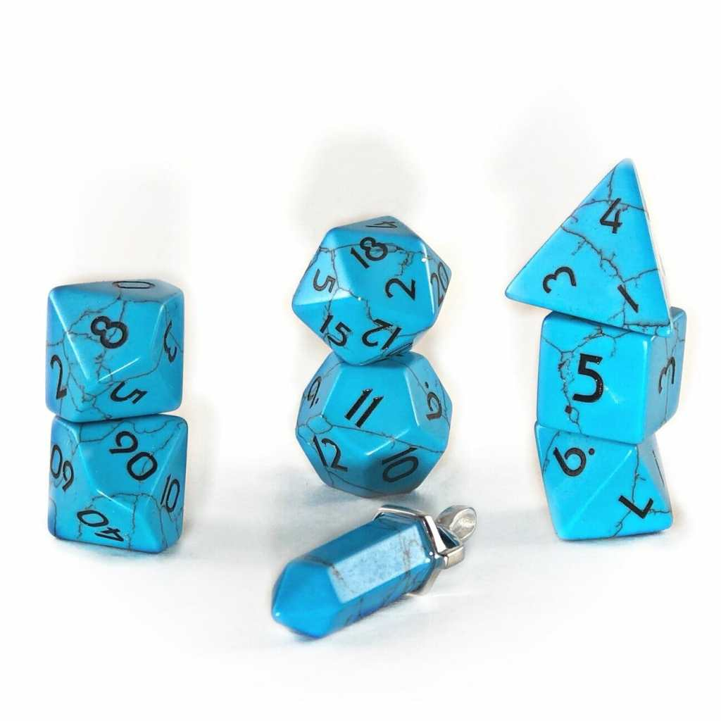 7 Cool Tabletop Gaming Products Showcased at Pax Unplugged - Unique RPG gaming swag and accessories - Level Up Dice for games Caged Aluminum Dice (Bespoke Gaming)