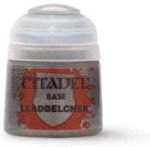 Games Workshop Citadel Base Paint Leadbelcher review - Must-have best metallic model paint for painting miniatures and models