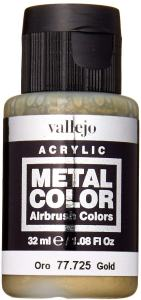 Vallejo Gold Metal Color review - Must-have best metallic model paint for painting miniatures and models