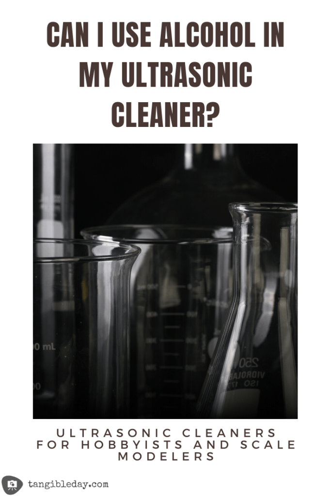 what liquid to use in an ultrasonic cleaner? Alcohol safe?
