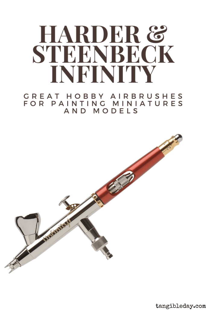 Recommended top 10 best airbrushes for painting miniatures and models - hobby and starter airbrushing - harder & steenbeck infinity 2-in-1 (H&S)