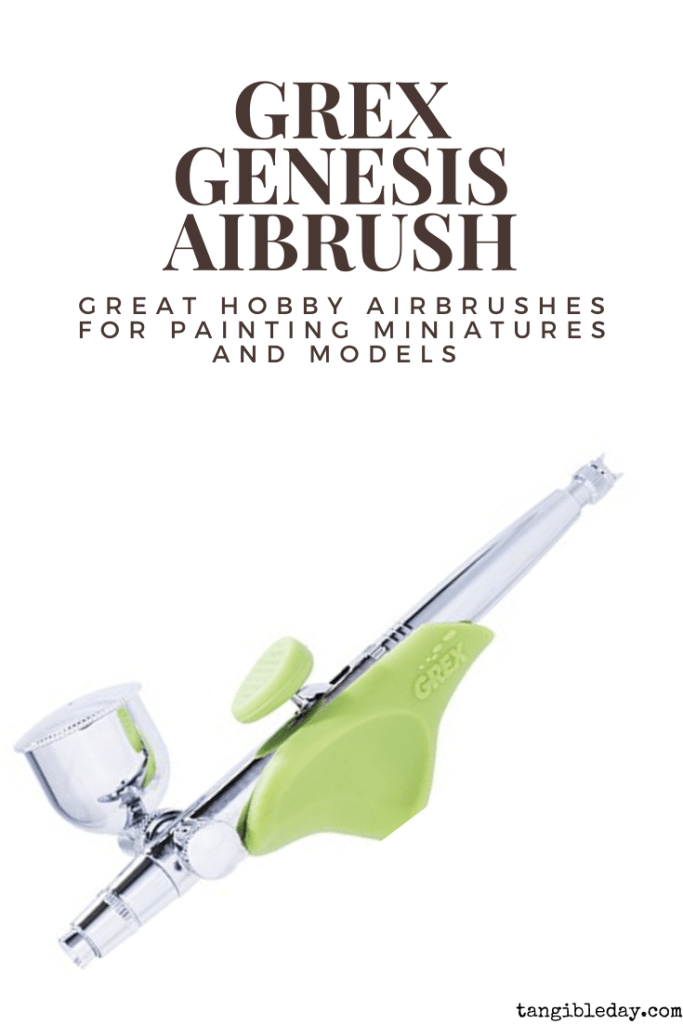 Recommended top 10 best airbrushes for painting miniatures and models - hobby and starter airbrushing - Grex genesis side feed airbrush