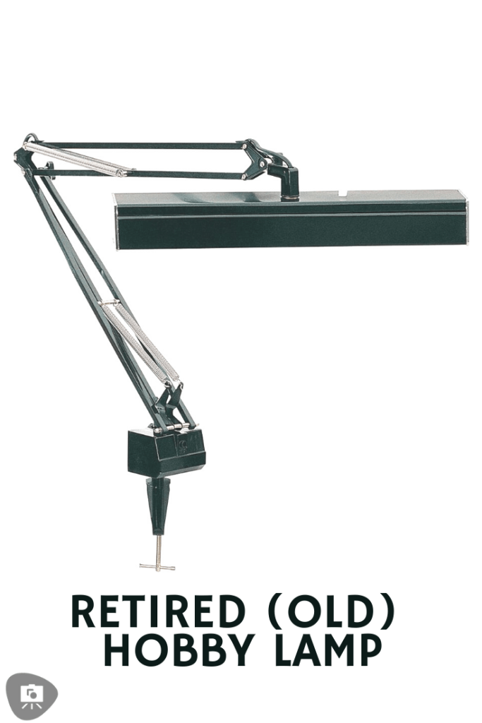 Review of one of the best hobby desk lamp for painting minis and miniatures. Overview of the Neatfi XL task lamp for hobby and craft work. Recommended lights for miniature painters. Old lamp that was replaced. The LSF-150. Check out the review for the Neatfi XL LED daylight spectrum hobby lamp.