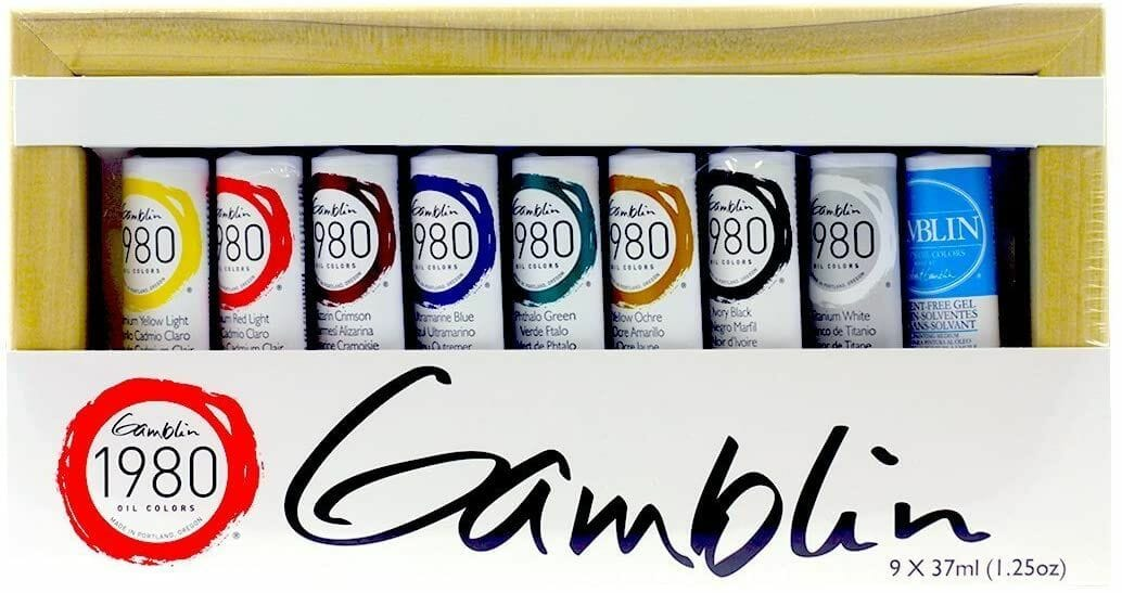 Gamblin-1980-Oil-Color-Set