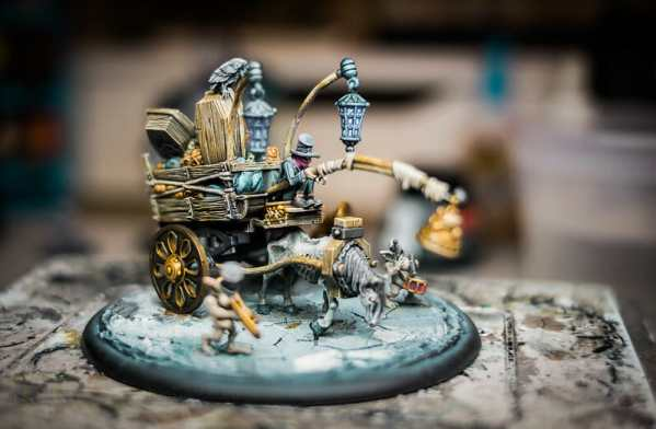 Best 15 inks for painting miniatures and models - citadel wash set - best inks for miniature painting - best inks for models - how to use inks on miniatures - inks for painting miniatures - Grymkin model with ink wood effect