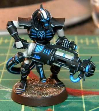 Necron Paint Schemes - 9 Color Motifs - how to paint Necrons - color schemes for Necrons, Necron Warriors, Sautekh or Zathanor Dynasty, and Necron dynasties - Indomitus Warhammer 40k Necron range color palette - 9 color schemes for Necron models and miniatures from Citadel Games Workshop - black blue osl