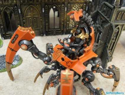 Necron Paint Schemes - 9 Color Motifs - how to paint Necrons - color schemes for Necrons, Necron Warriors, Sautekh or Zathanor Dynasty, and Necron dynasties - Indomitus Warhammer 40k Necron range color palette - 9 color schemes for Necron models and miniatures from Citadel Games Workshop - orange armor
