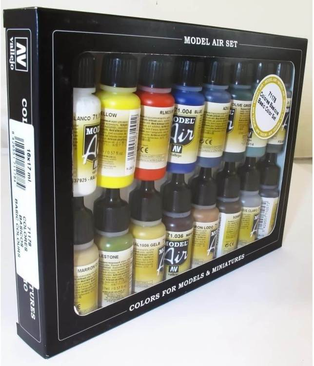 Best airbrush paint for miniatures and models – airbrush paints for models – miniature airbrush paint – review airbrush paint sets for models – citadel airbrush paint – painting multiple models with an airbrush quickly - vallejo model air colors for airbrushing miniatures