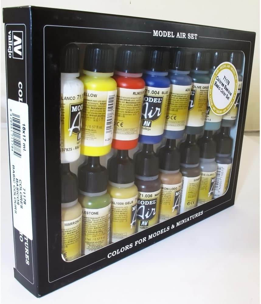 Vallejo-Basic-Model-air-Paint-Set