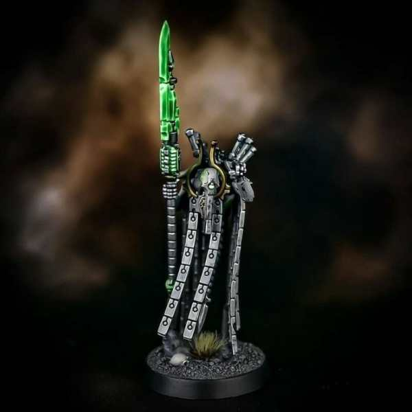 How to paint necrons simple easy fast - tutorial for painting necrons - necron paint schemes - necron color scheme - green dark grimdark color scheme - how do you all paint necrons how do you paint new necrons are necrons easy to paint - blade painting