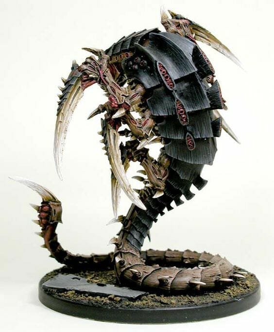 Tyranid color paint schemes – how to paint tyranids – tyranid paint schemes – tyranid army scheme – tyranid color scheme – How to choose Tyranid army color scheme – Tyranid Warhammer 40k colors – Hive fleet color schemes – Hive fleet paint scheme – Black highlighted armor
