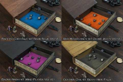 13 Best Dice Trays for Tabletop Games (Review) – best dice trays for wargaming – Warhammer dice tray and storage – best dice tray for Warhammer 40k and miniature games – boardgame dice tray – best dice trays – dice trays for dungeons and dragons, D&D, and roleplaying games (RPG) – spellbook dice tray box metal accents