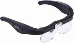 Best hobby magnifying glasses for modeling and miniatures - Chris Spotts The Spotted Painter review magnifying headsets - hands free magnifiers review - glasses style magnifier