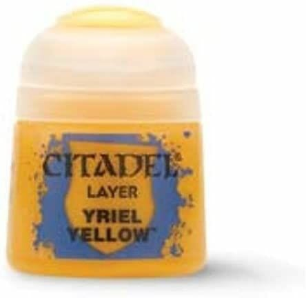Best 26 Citadel Paints for Your Model Paint Collection – most useful model paints – best acrylic paints for new painters – best citadel paint set – best citadel paint – versatile model paint – games workshop paint sets - Yriel Yellow