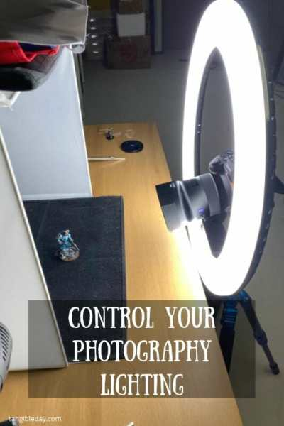 10 Simple Miniature Photography Tips - 10 Simple Tips for Photographing Miniatures and Models - How to improve your miniature photography with professional tips and tricks - overview of how to take better pictures of your miniatures and models - control your lighting with these LEDs