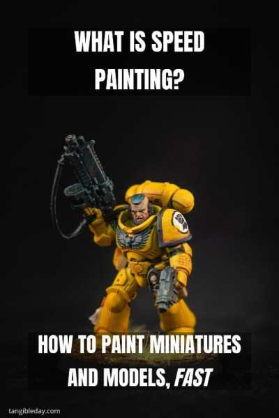 Speed painting tabletop miniatures - How to speed paint RPG miniatures and models - painting bulk dnd miniatures - how to paint models faster for tabletop games - 5 easy steps for painting miniatures fast - What is speed painting and why you should learn how to do it?