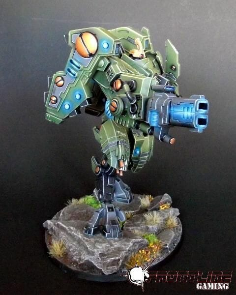 Tau sept color schemes, caste color schemes for Tau, T'au paint color scheme ideas – Grimdark Tau style, Blachitsu Tau painting, how to paint Tau miniatures, Games Workshop Tau paint schemes – How to paint grimdark Tau – painting Blanchitsu Tau - green blue osl tau