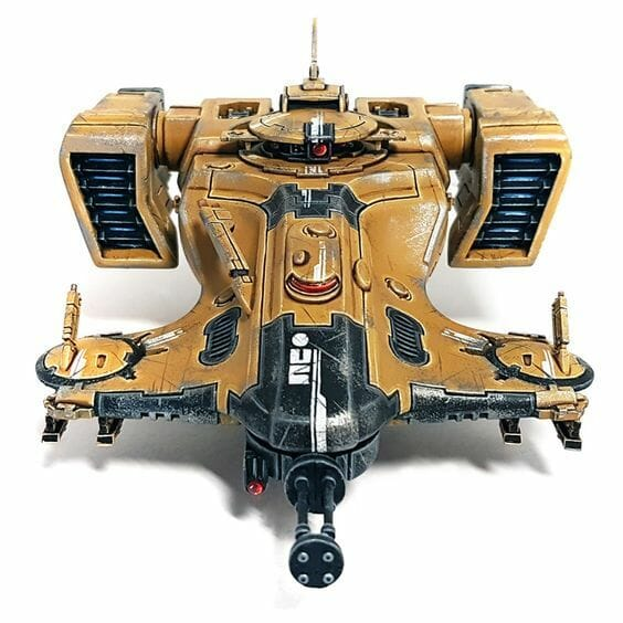 Tau sept color schemes, caste color schemes for Tau, T'au paint color scheme ideas – Grimdark Tau style, Blachitsu Tau painting, how to paint Tau miniatures, Games Workshop Tau paint schemes – How to paint grimdark Tau – painting Blanchitsu Tau - realistic brown