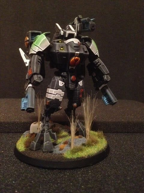Tau sept color schemes, caste color schemes for Tau, T'au paint color scheme ideas – Grimdark Tau style, Blachitsu Tau painting, how to paint Tau miniatures, Games Workshop Tau paint schemes – How to paint grimdark Tau – painting Blanchitsu Tau - black matte