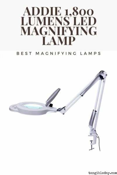 Best magnifying lamps for painting miniatures reviewed - desk lamps for painting minis and models - addie 1800 lumen lamp