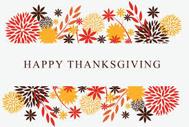 Happy Thanksgiving, A Day To Be Grateful