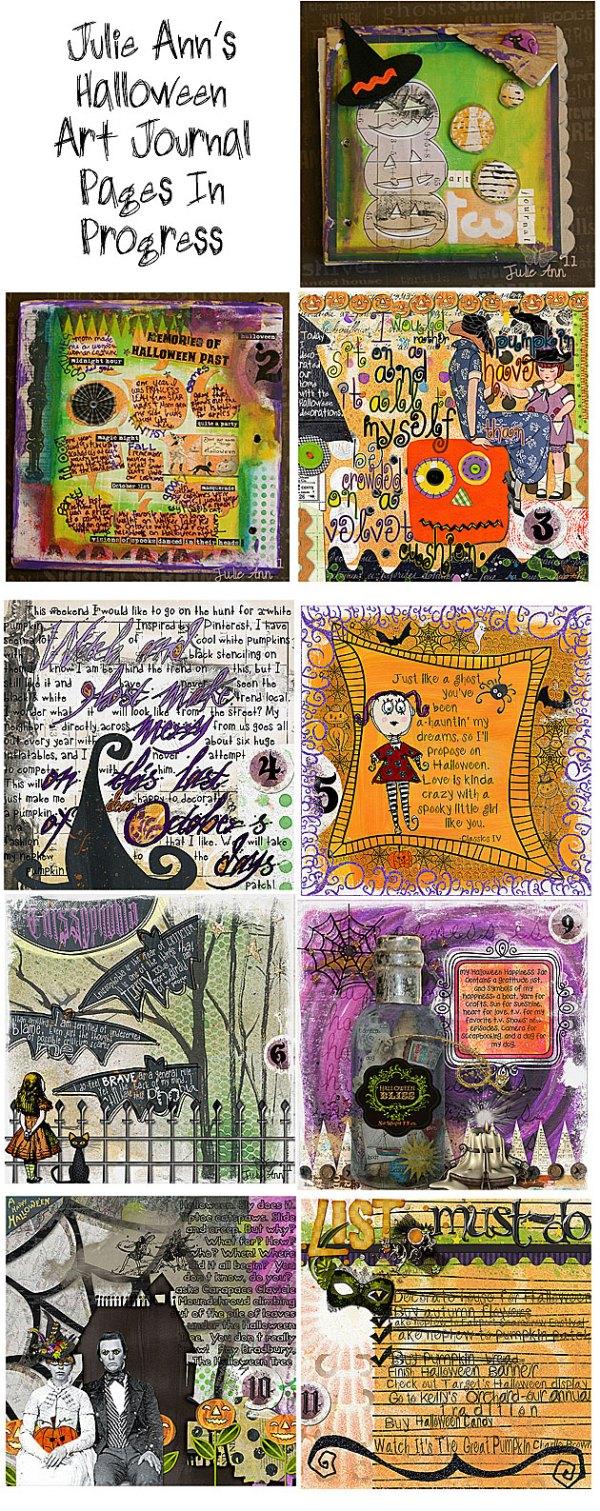 Art Journaling 101: Halloween and Fall Art Journaling ...