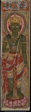 Vajrapani, Tangka le plus ancien
