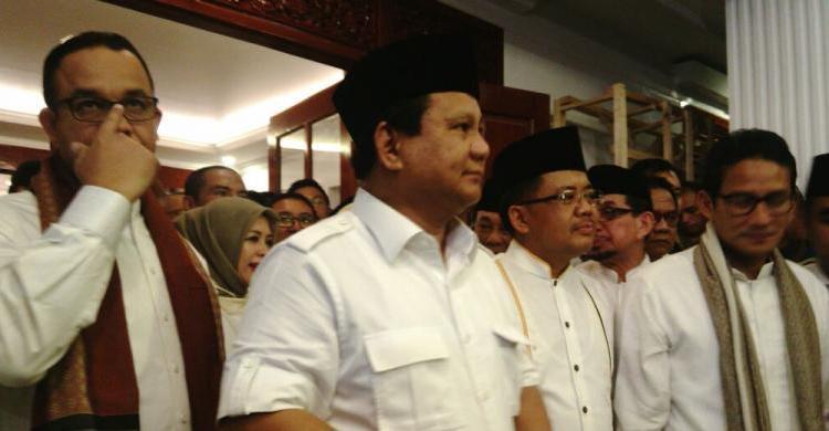 Aksi Prabowo Bakar Semangat Relawan Pendukung Demi Menangkan Anies – Sandi