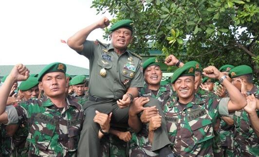 TNI Siap Backup Polri Amankan Pilkada Serentak 15 Februari