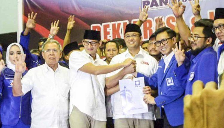 DPP PAN Resmi Beri Dukungan Kepada Anies-Sandi