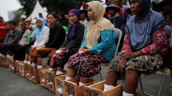 Pesan Putri Mendiang Korban Meninggal Aksi Cor Kaki Di Istana Presiden