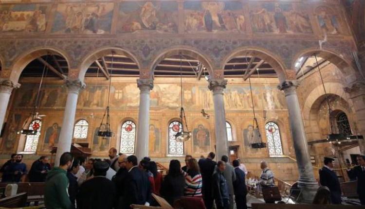 Ledakan Bom Guncang Gereja di Kairo, 25 Orang Tewas