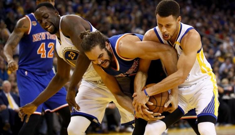 Tanpa Rose dan Carmelo, Knicks dikalahkan dengan mudah oleh Warriors