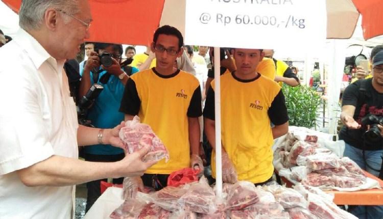 Operasi Pasar Murah di SCBD