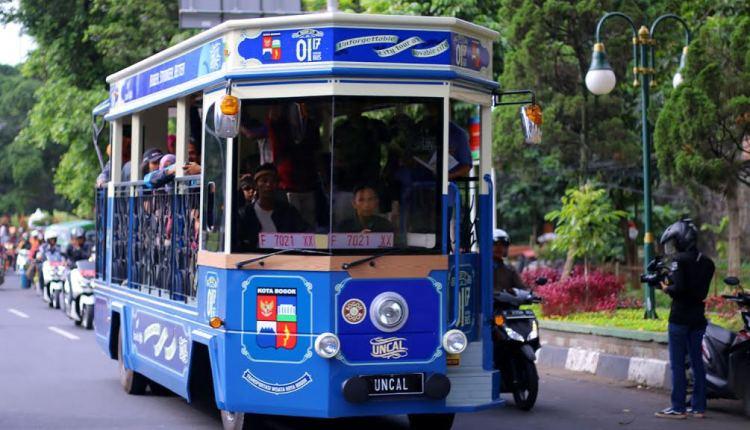 Bogor Memiliki Bus Wisata Gratis Keliling Kota Bogor