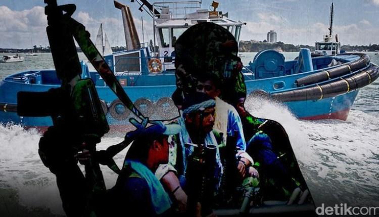 Perompak Kembali Tembakin Kapal Nelayan Filipina