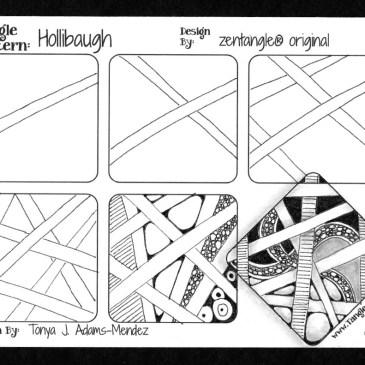 Hollibaugh Tangle Pattern Tutorial