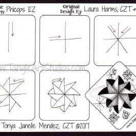 Phicops EZ Tangle Pattern Tutorial